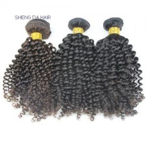 China Kinky Curly HIGH QUALITY Virgin Malaysian Human Hair Tangle Free on sale