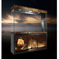 China the Louvre Museum setting, aquarium, can do the custom made on sale