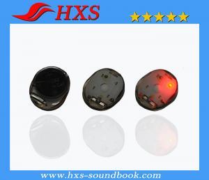 China shenzhen small size crystal beautiful colour led flashing light in round shape on sale