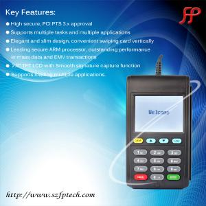 China handheld emv card reader and pinpad 6210, portable pinpad smart card reader on sale