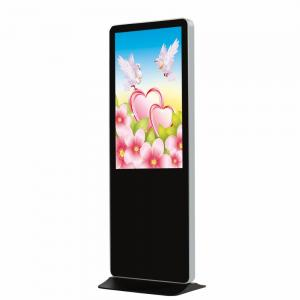 China Black TFT Digital Advertising LCD Screens 43 Inch With I3 I5 I7 PC CPU on sale