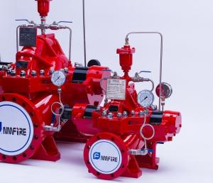 China Multi Functional Diesel Engine Driven Fire Pump For Large Scale Commercial Complex on sale