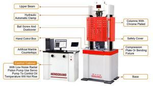 China High Quality Hydraulic Pump Testing Machine , Universal Hydraulic Testing Machine 1000KN on sale