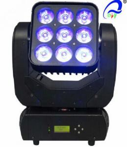 China 1 / 16 / 48 CH Dmx Led Matrix Light , Electronic Focus Party Moving Head Beam Light on sale
