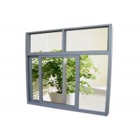 6005 T5 Aluminium Window Profiles , Mill Finished Window Aluminium Frame