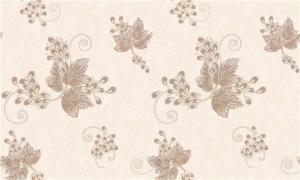 China Beautiful Flower Design Deep Embossed Wallpaper For Walls Decor , Italy Style on sale