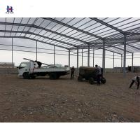 China Q345 B Large span steel structure workshop with overhead crane on sale