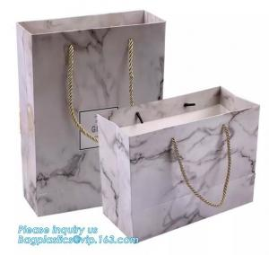 China Wholesale Luxury Guangzhou Paper Bag Fashion Paper Bag With Logo,Luxury Paper Packaging Bag With Handle bags carrier han on sale
