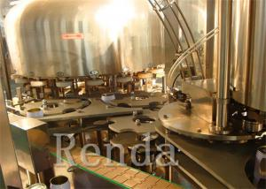 China PET Bottle Soda / CSD Carbonated Drink Filling Machine 10000 BPH 1 Year Warranty on sale