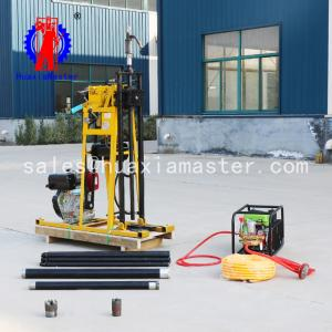 China Hot sale  hydraulic core drilling rig/50meters  rock core sampling drilling rig/light exploration equipment on sale
