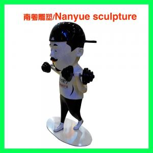 China life size fiberglass colorful  cartoon statue  in theme decoration as decoration in park or hall center on sale