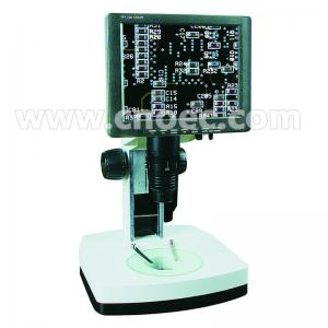 China High School Blue Digital LCD Microscope Halogen Lamp Microscopes A36.1201 on sale