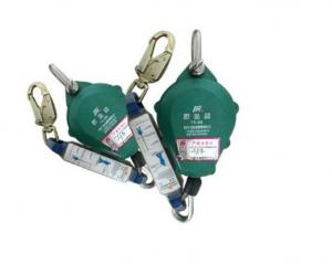 China Hoist Safety Harness Lanyard , Safety Falling Protector Shock Absorbing Lanyard on sale