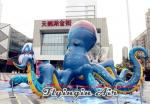 Custom 10m*6m Inflatable Octopus with Big Head for Outdoor Display