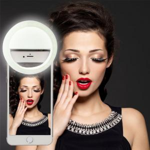 China Universal Ring Mounted 3 level selfie flash light led selfie ring light LED Selfie Ring Fill Light 36 Led Bulbs on sale