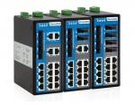 20-port Industrial Ethernet Switch With IP40 Protection Metal Housing