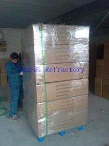 China Customized Low Shrinkage Ceramic Fiber Refractory Paper For Gasketing , Sealing on sale