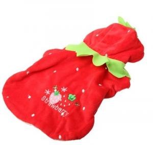 China Christmas dog clothes cute Santa pet clothing for small medium dog cat Chihuahua Yorkshire on sale