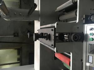 China Allfine 7color 320 two units(4+3) Label two color flexo. printing press self-adhesive sticker/label to mould die cutter on sale