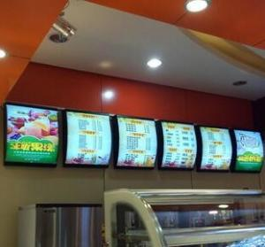 China RESTAURANT MENU BOARD,PICTURE MENU SLIM LIGHT BOX,fast food menu, KFC menu LED light box ,mcdonald's menu sign box on sale