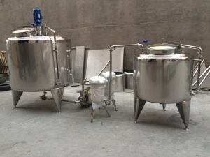 China Liquid Soap Making Machine, Liquid Soap Production Line, Liquid Laundry Soap Mixing Tank on sale