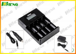 China Universal Lithium 12V Battery Charger Black for Li-ion / Ni-MH / LiFePO4 Batteries on sale