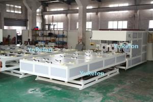 China Air Cooling PVC Pipe Belling Machine , Automatic PVC Pipe Welding Machine With 3gr13 Mould on sale