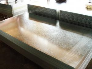 China Hot Dipped Galvanized Steel Sheet / Sheets JIS G3302, ASTM A653, EN 10147 SPCC, SPCD, SPCE on sale
