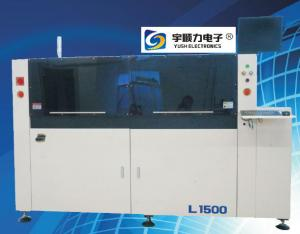 China GSE Automatic Vision Screen Digital Solder Paste Printer High Speed 0-200mm/s on sale
