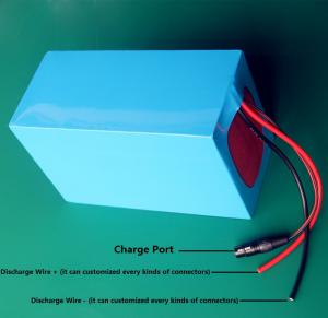 China 48v 36V 1000W Electric Bike Lithium Battery 48V 30Ah Li-ion 18650 battery with 30A BMS on sale