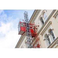 Energy Saving Temporary Construction Elevators Small Noise Steady Start / Stop
