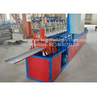 Hydraulic Roofing Sheet Making Machine 250 / 312 And 416mm Changeable Soffit Panel