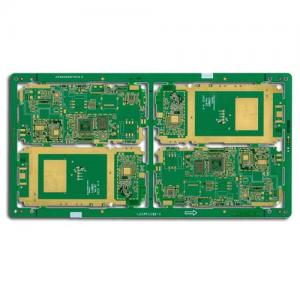 China 10 layer HDI PCB GOLD rigid pcb boards on sale