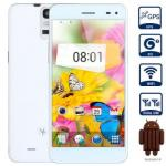 China MPIE T6S Android 4.4 3G Phablet 5.5 inch HD Screen MTK6582 Quad Core 1.3GHz 2GB RAM 4GB RO wholesale