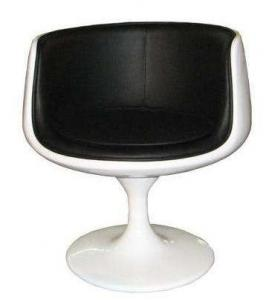 China Modern fiberglass leisure tea dining chair cup shaped Bar chair on sale