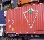 frete de oceano, operações de desalfandegamento, caminhão