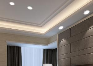 China 3 Inch Small Home LED Lighting Fixtures / Recessed LED Ceiling Panels 290LM 3 W on sale