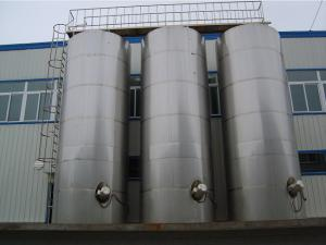 China Horizontal / Vertical Outdoor Storage Tank - Stainless Steel Tanks supplier