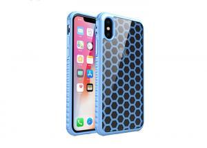 China 3D Stripe Football Pattern Slim IPhone X Case Water Transfer Printing on sale