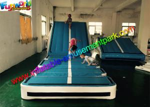 China Customized Gym Inflatable Air Track , Inflatable Gymnastics Air Floor With Air Ramp on sale
