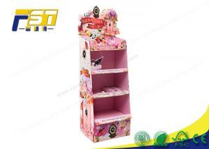 China Children Toy Cardboard Floor Displays Racks Customized Size Promotion Usage on sale