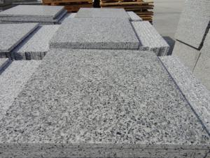 China Quality Certification Chinese Grey Sardo G640 polished G640 Grey Stone Stair /riser /Step Price on sale