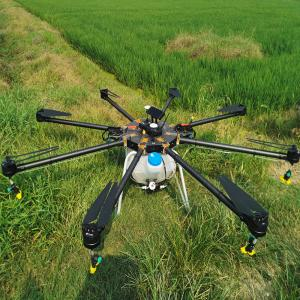 China Helicopter Sprayer Plant Protection UAV Crop Duster Sprayer  UAV Drone on sale