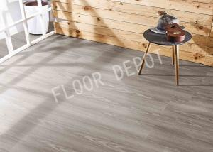 China 6mm Luxury Vinyl Tile Flooring Click Lock Virgin Material Wood Grain Embossed on sale