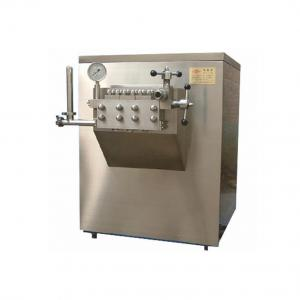 China Stainless High Quality Steel High Pressure Homogenizer For Milk/juice/cosmetic/chemical on sale