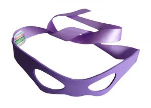 China Personalized Purple Dance Party Eye Mask Made Of EVA Material And With Ribbons at Masquerade on sale