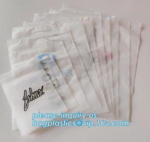China Top Quality EVA PE OPP Bio Degradable T Shirt Bag, OEM Printed Slider Zip Packaging Plastic Bags For Tshirt Swimwear on sale