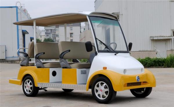 4 0kw Ez Go 6 Penger Electric Car Shuttle Golf Cart With Roof For Tourist Images