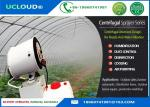 Portable Centrifugal Industrial Misting Fans Large Spray Area And Move Flexibly