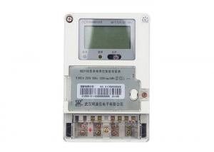 China Smart Customized Multifunction Single Phase Fee Control Electric Energy Meter on sale